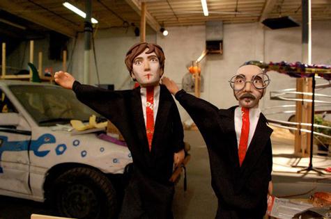 Damian & Tim Puppets